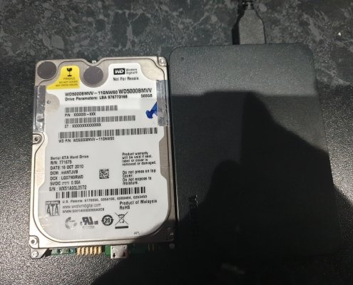 WD5000BMVV data recovery