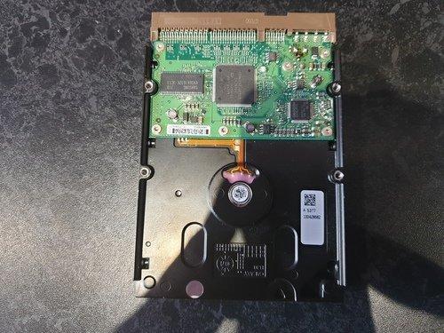 Hard Drive Damaged Circuit Board