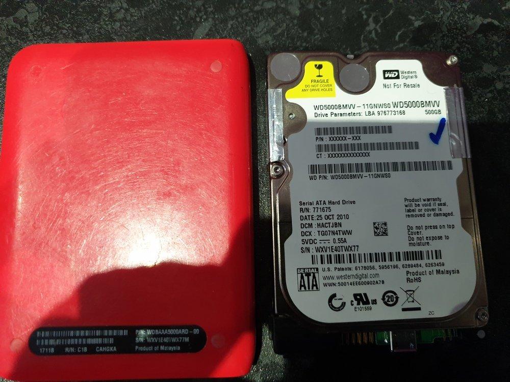 Western Digital Passport Usb Portable Hard Drive
