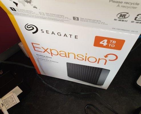 Seagate 4tb portable hard drive